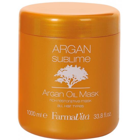 Plaukų kaukė su Argano aliejumi Farmavita Argan Sublime Mask 1000 Ml